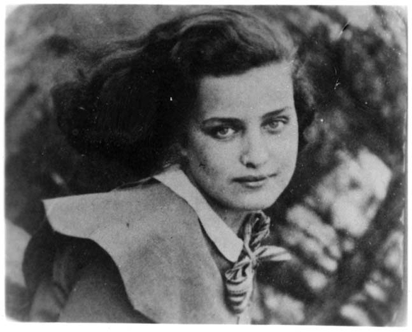 Gusta Davidson prima della guerra